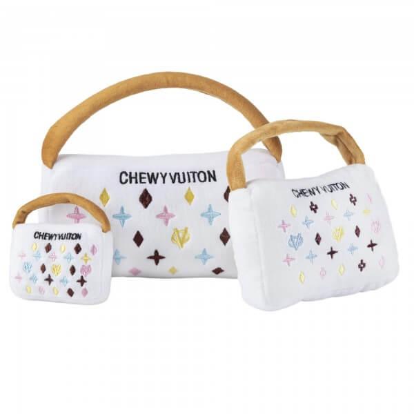 HDD White Chewy Vuiton Handtasche Spielzeug