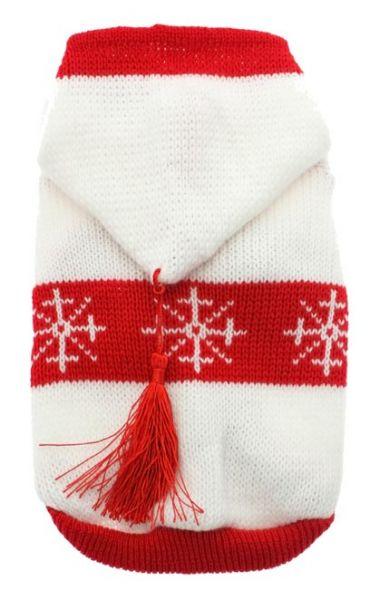 UP SNOWFLAKE Sweater mit Hoodie