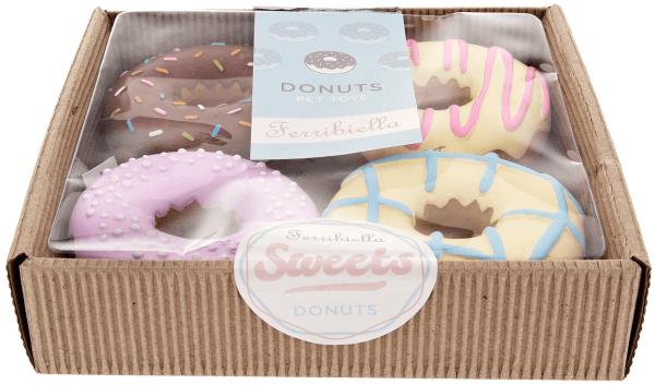 FB Hundespielzeug Latex Donuts (4stk)