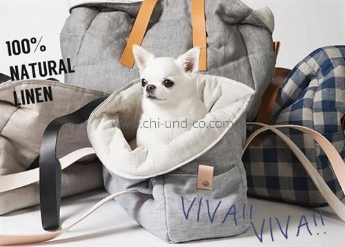 LD VIVA Leinen-Hundetasche (3 Farben)