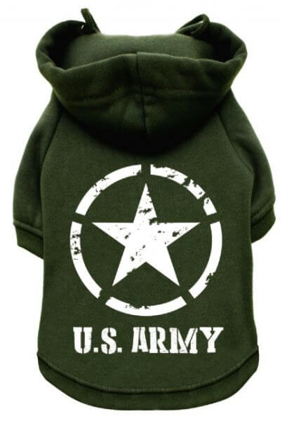 UP U.S. ARMY Kapuzenpullover