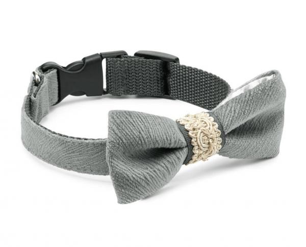 ROYAL Grau Halsband