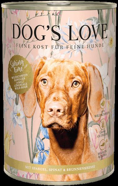 Dog's Love Frühlingsmenü Wildschwein 2021