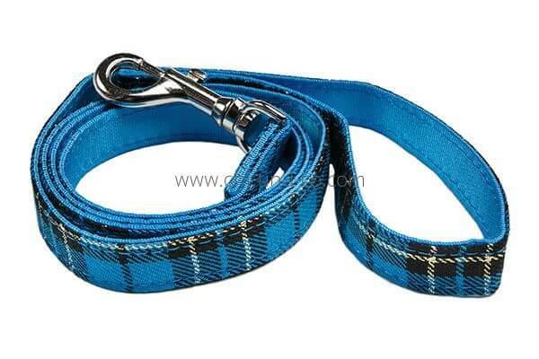 UP BLUE TARTAN Leine