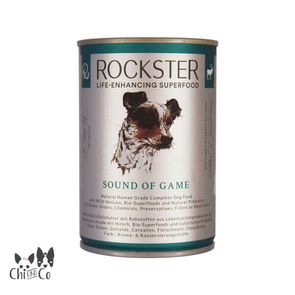 ROCKSTER SUPERFOOD HIRSCH SOUND OF GAME 410g